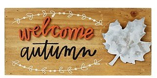 Fall Wooden Signs (In Store)