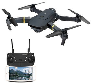 Eachine E58 WIFI FPV With 720P/1080P HD Wide Angle Camera High Hold Mode Foldable RC Drone