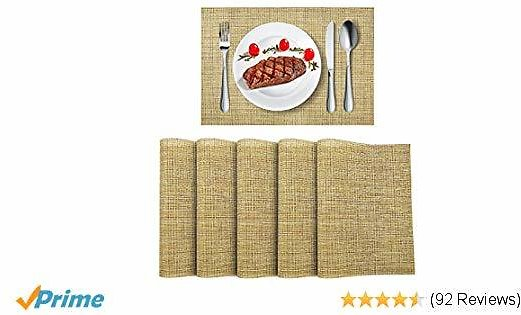 6pk Washable Placemats $10 Shipped