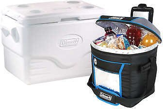 Coleman 36 Quart Performance Series Marine Cooler with 30-Can Soft Cooler
