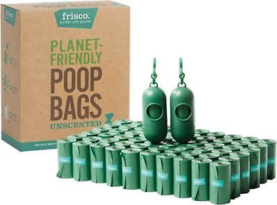 Frisco Refill Planet Friendly Dog Poop Bag + 2 Dispensers, 900 Count