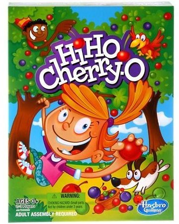 Classic Hi Ho Cherry-O Kids Board Game, for Preschoolers Ages 3 and Up Image 1 of 4 Classic Hi Ho Cherry-O Kids Board Game, Fo