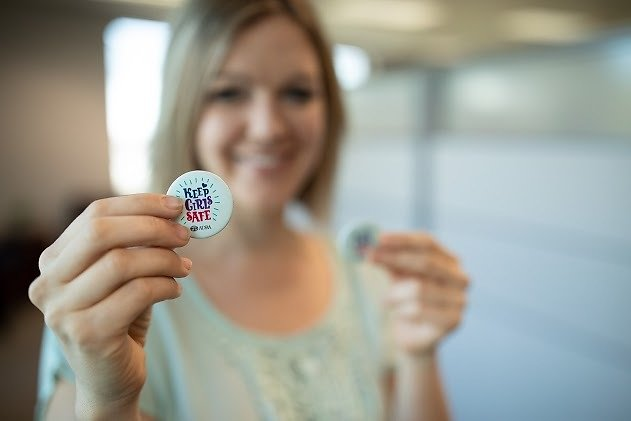 Receive A Button And Show Your Support