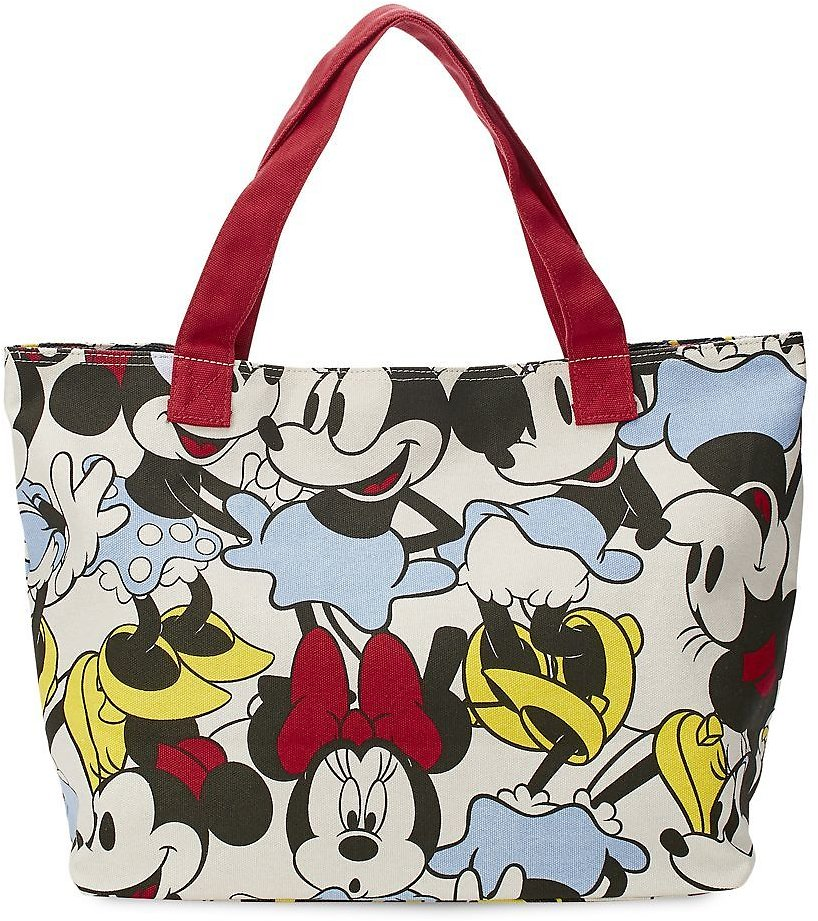 Minnie Mouse Canvas Tote Bag for $14 with Any Purchase | ShopDisney