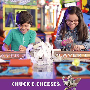 Chuck E. Cheese Four $25 EGift Cards, Valid At Participating Locations