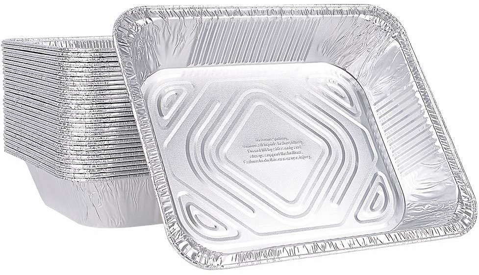 50% Off On XIAFEI Disposable Durable Aluminum Oblong Foil Steam Table Pans, Half Size Deep, 30 Pack