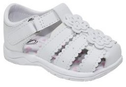 Wonder Nation Infant Girls' Fisherman Flower Sandal
