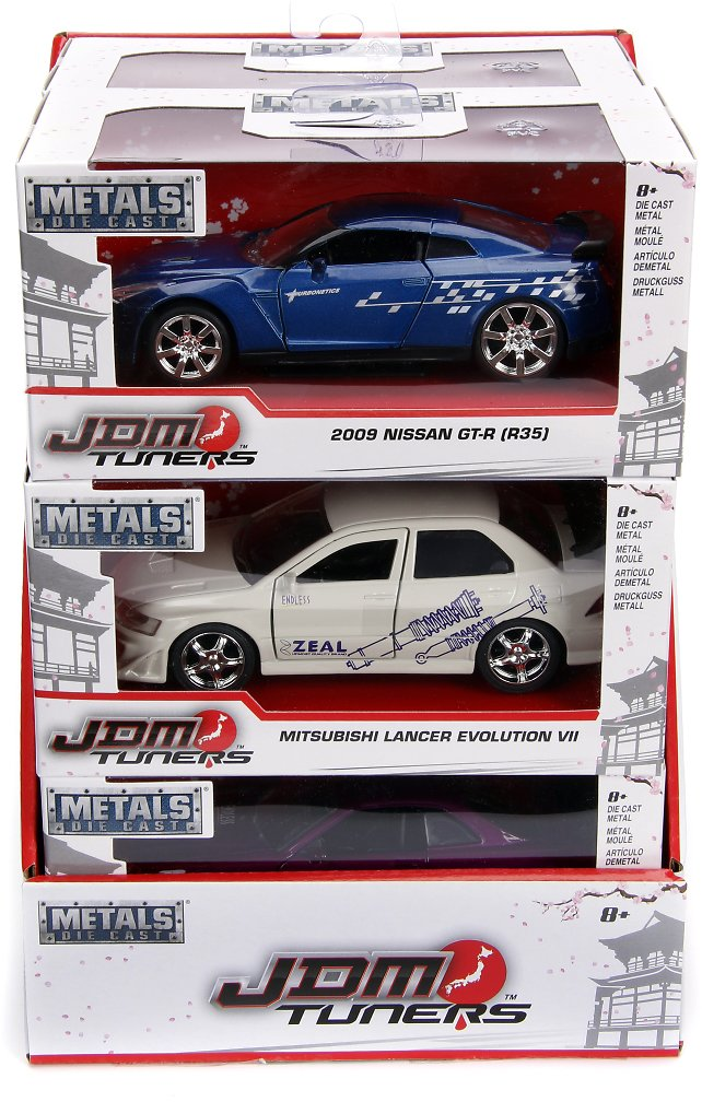 JDM 1:32 Scale Die Cast Vehicles - Assortment May Vary