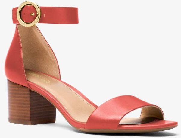 Michael Kors Lena Leather Sandal (2 Colors)
