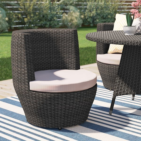 Martinez Patio Dining Chair with Cushion