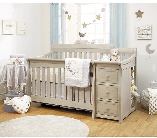 Princeton Elite 4-in-1 Convertible Crib and Changer