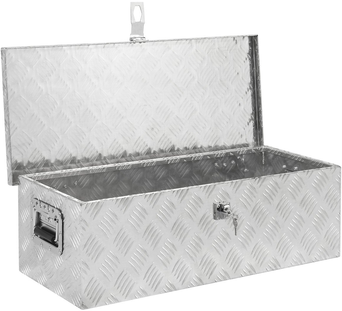 Best Choice Products 30in Aluminum Tool Box
