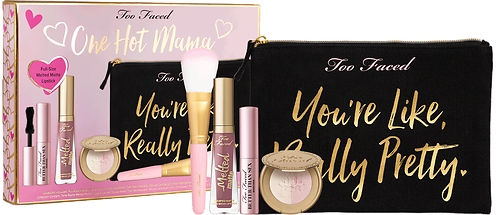 Too Faced 5Pc. One Hot Mama Makeup & Bag Set