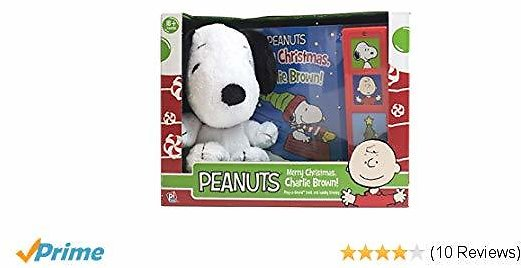 Peanuts Merry Christmas, Charlie Brown! Book