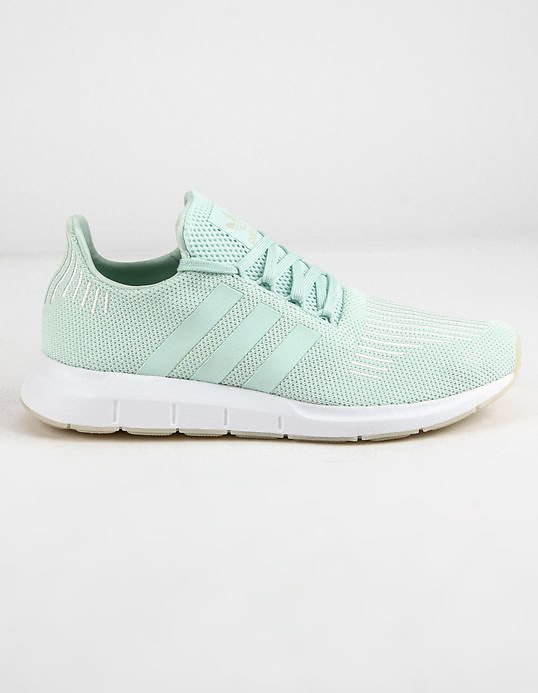 ADIDAS Swift Run Ice Mint & Off White Womens Shoes - MINT - 344477523 | Tillys