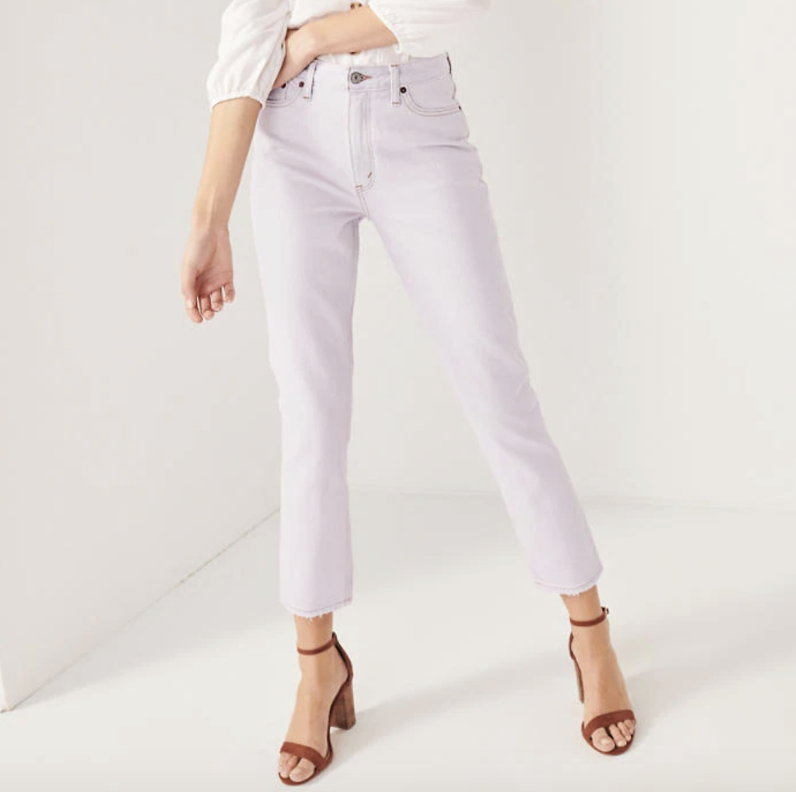 $14.99 Abercrombie High Rise Mom Jeans