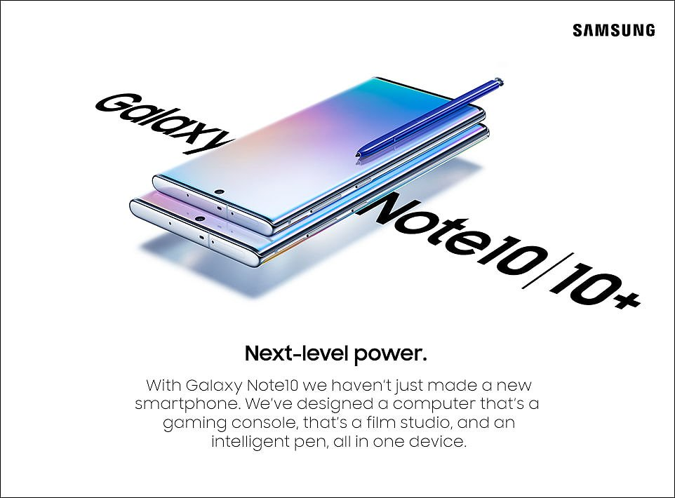 Save $950 w/ Buy Two Galaxy Note 10/10+