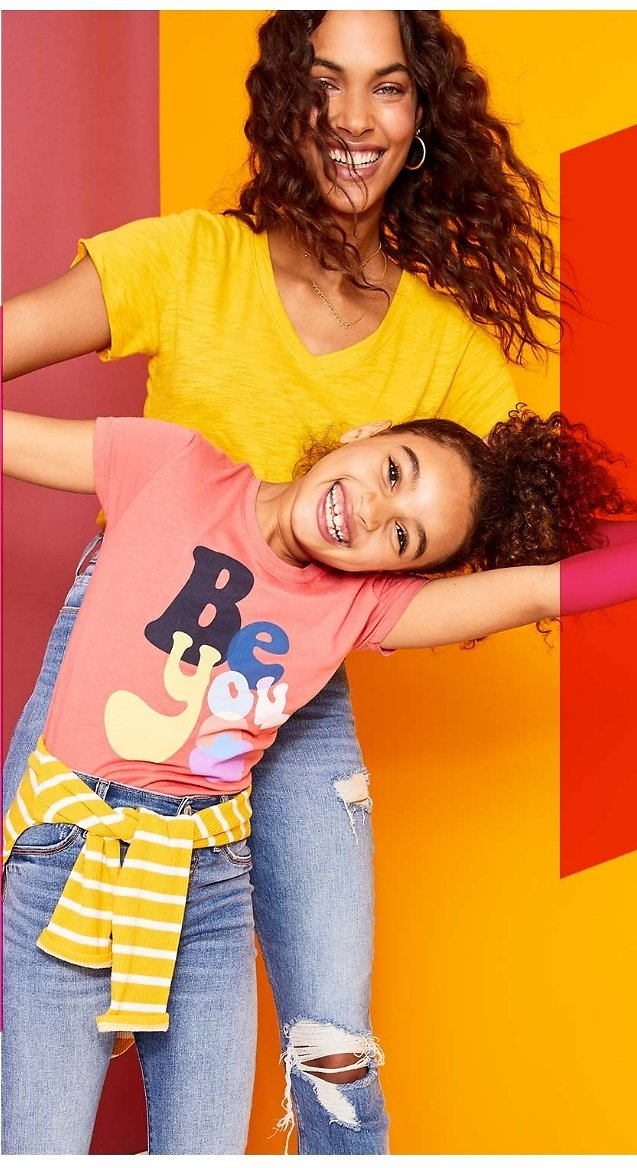 Today Only $4 Women's T-Shirts & Kids Tee $3 toddlers tees | Old Navy