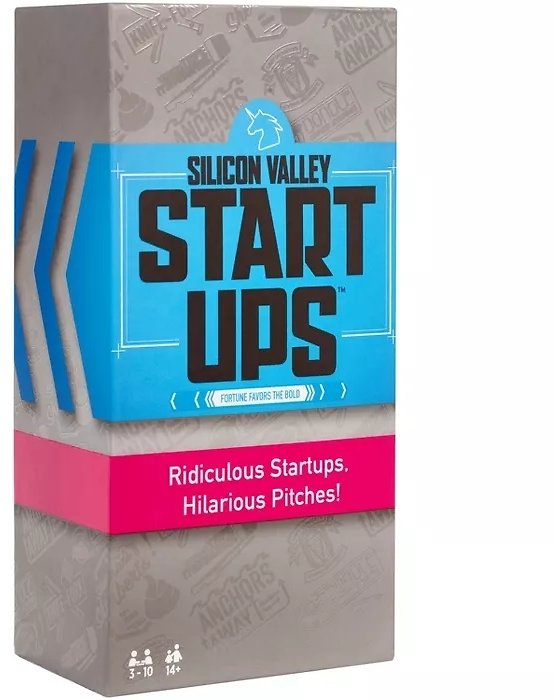 Silicon Valley Startups Board Game