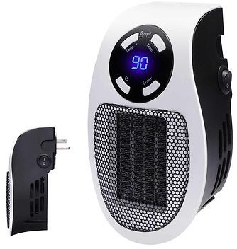 600W Portable Ceramic Mini Space Air Heater