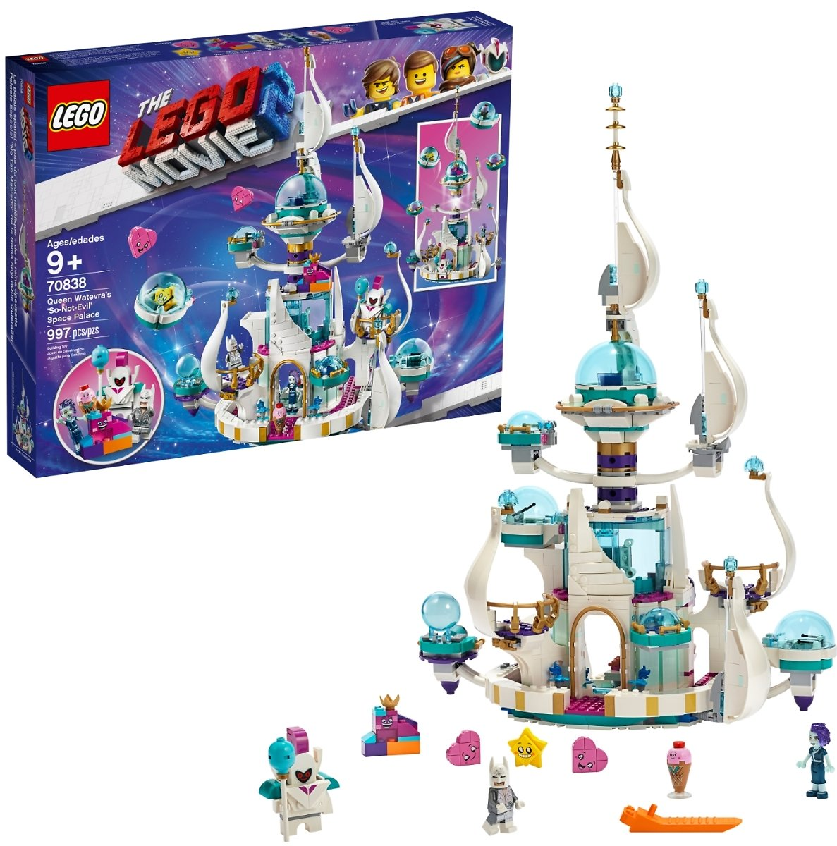 LEGO Movie Queen Watevra's So-Not-Evil' Space Palace / Walmart