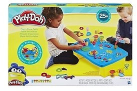 Play-Doh Play 'n Store Table, Arts & Crafts, Activity Table, Ages 3 and Up