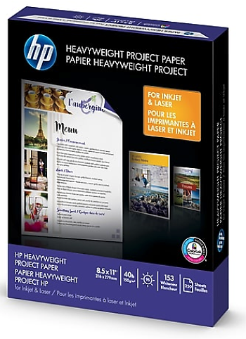 HP Heavyweight Project Paper, 8.5