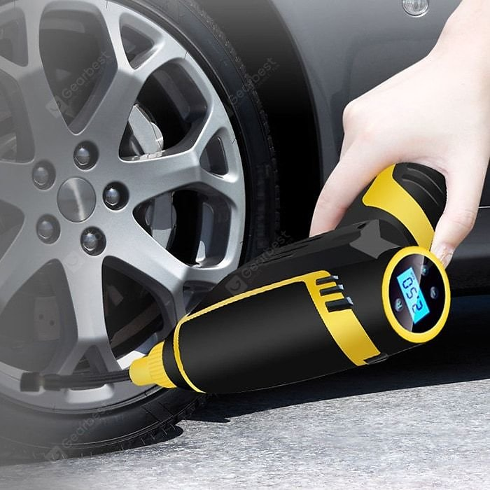 Cordless Handheld Mini Electric Car Air Pump | Gearbest