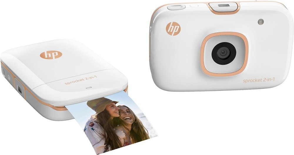 HP Sprocket 2-in-1 Photo Printer (2 Colors) + F/S