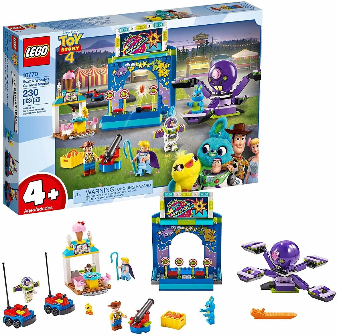 LEGO Toy Story 4 Carnival Mania! Building Kit (Ships Free)