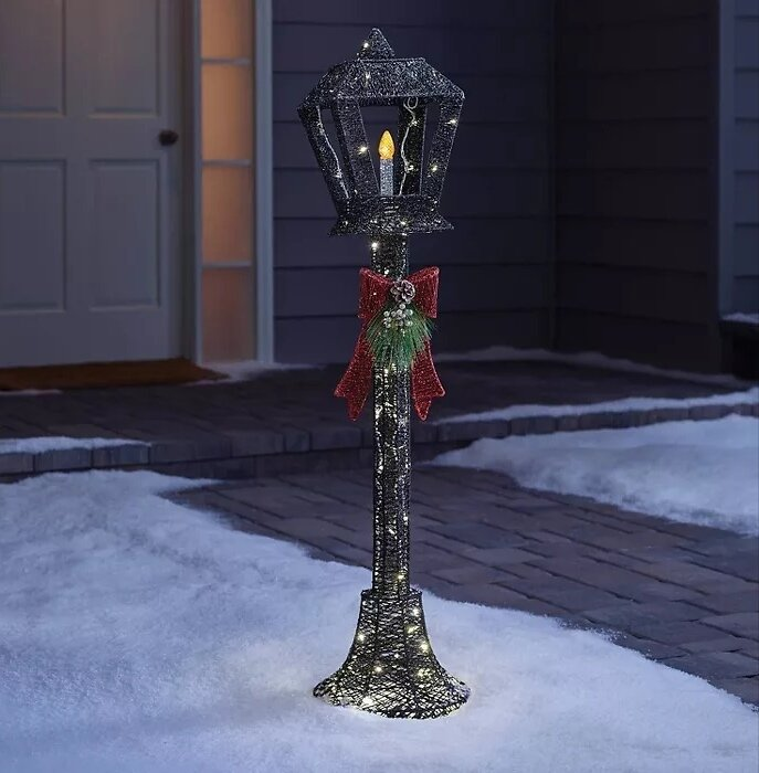 Philips 70ct Christmas LED Lamp Post Novelty Sculpture