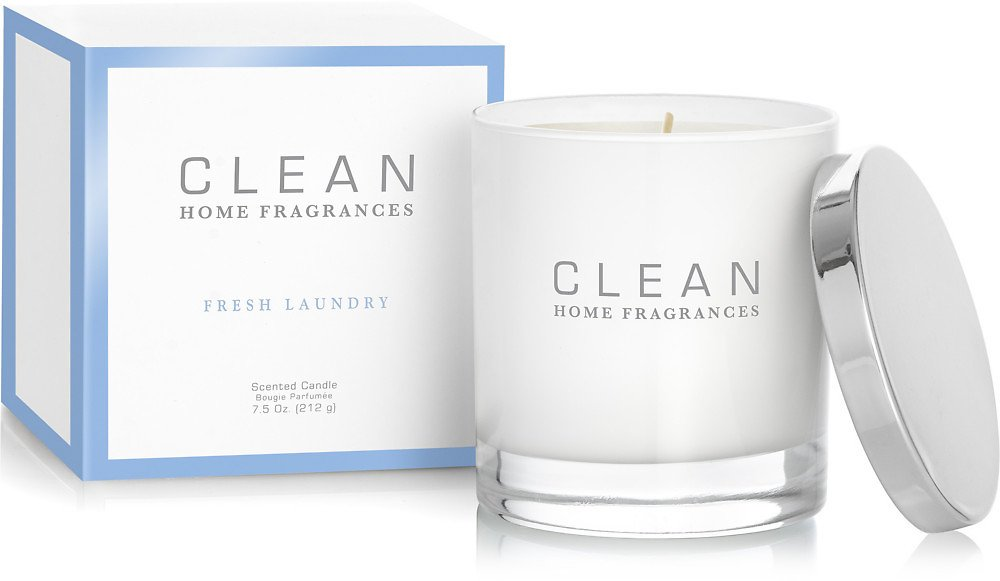 Clean Online Only Fresh Laundry Scented Candle