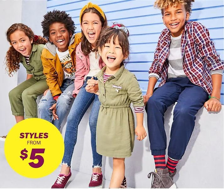 Girls' Kids & Baby On Sale Up To 50% Off | Old Navy
