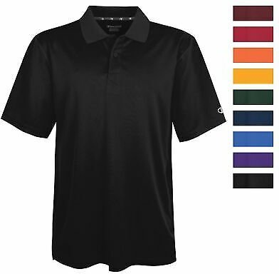 Champion H131 Men's Ultimate Double Dry Solid Polo Athletic Casual Golf Shirt