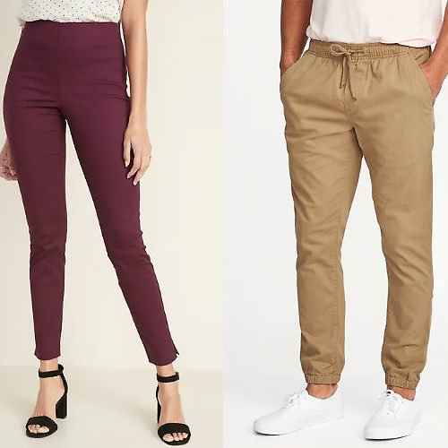Today Only! $12 Old Navy Adult Pants + More