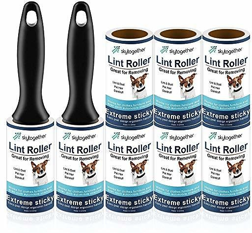 40% Off On Lint Rollers for Pet Hair, Clothes, Furniture, Carpet, Couch, Extra Sticky Lint Remover