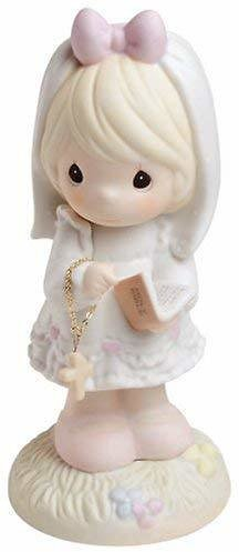 Precious Moments, This Day Has Been Made In Heaven, Bisque Porcelain Figurine