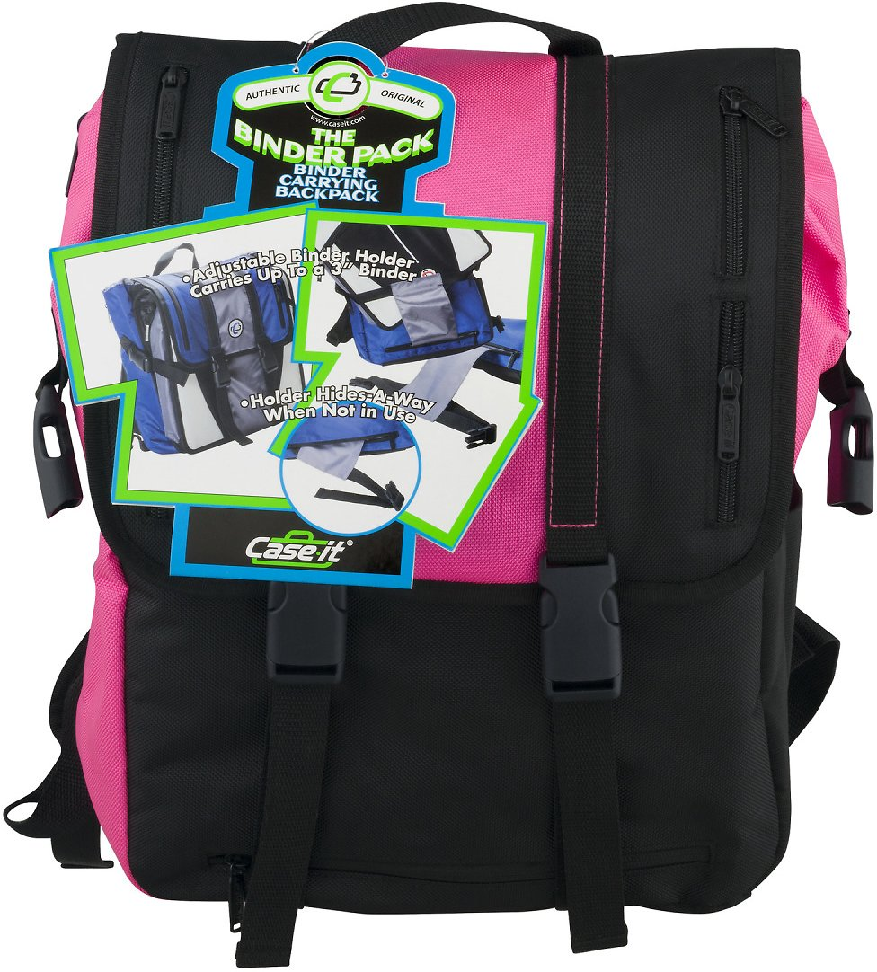 Case It Binder Carrying Backpack