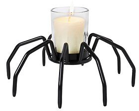 Halloween Spider Legs Tealight Candle Holder (In Store)