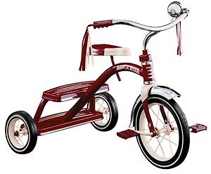 Radio Flyer Unisex 12 In. Dia. Tricycle Red - Ace Hardware