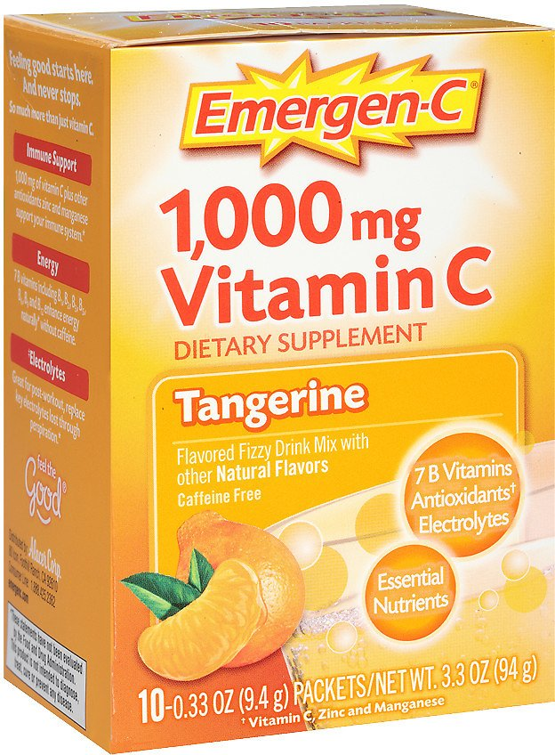 Emergen-C Dietary Supplement Fizzy Drink Mix
