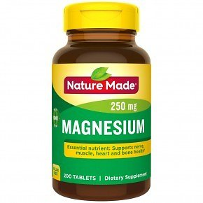 BOGO Free Nature Made Magnesium Tablets - 200 Ct