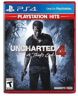 PS4 Games: Little Big Planet 3, Uncharted 4: A Thief's End - Kohls