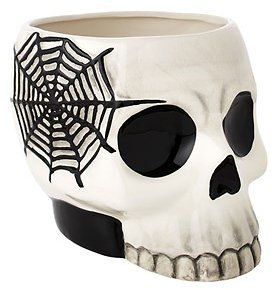 Halloween Black and White Candy Bowl (In Store)