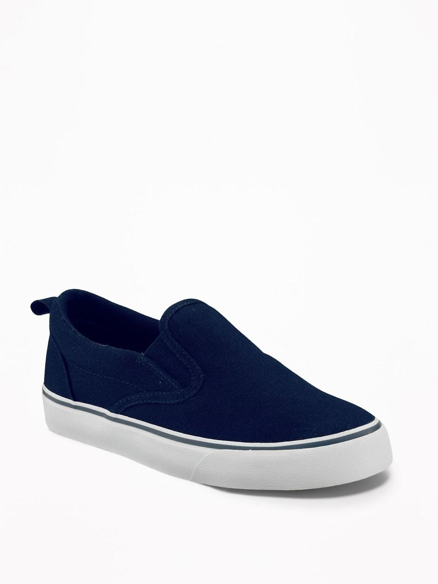 50% Off!! Canvas Slip-Ons for Boys