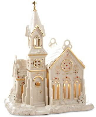 Lenox Mistletoe Park Village Church, Created for Macy's & Reviews - Collectible Figurines