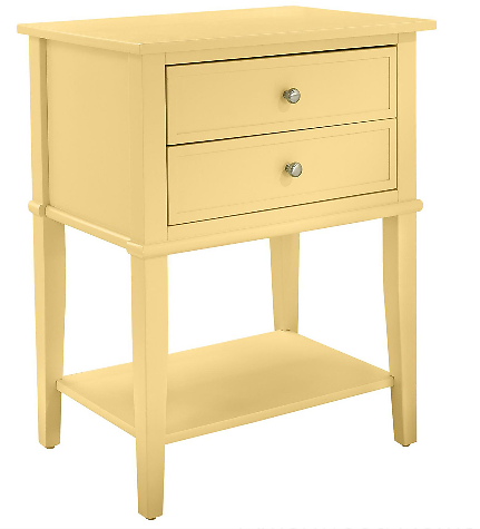 Ameriwood Home Franklin Accent Table W/2 Drawers