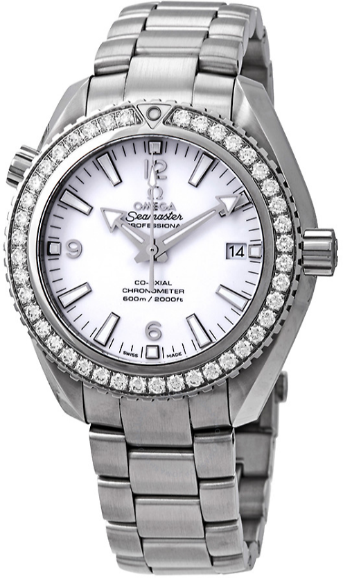 Save 60% Off + Extra $1000 Off Omega Seamaster Planet Ocean Automatic Diamond Ladies Watch