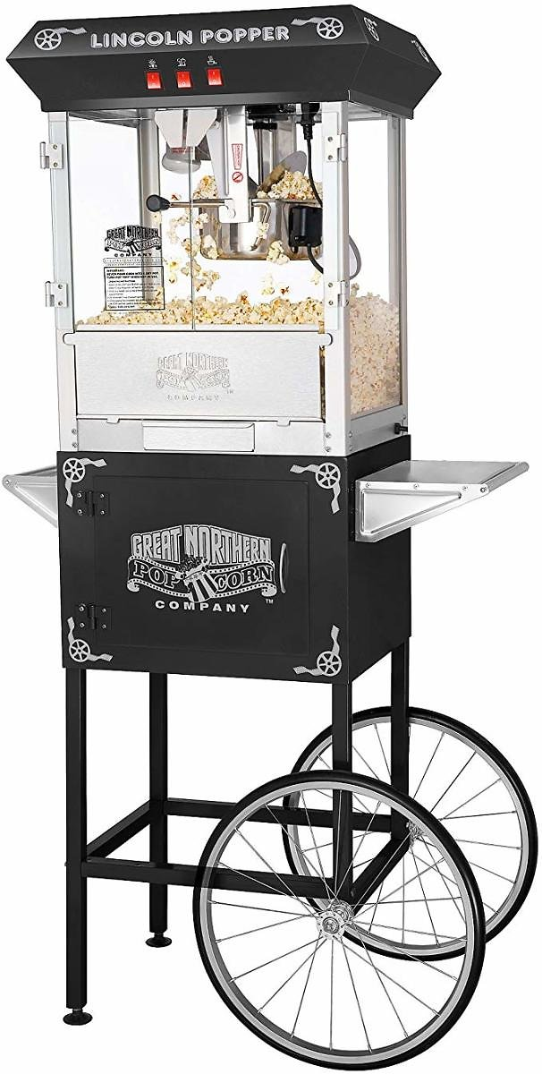 Antique Style Lincoln Popcorn Popper Machine