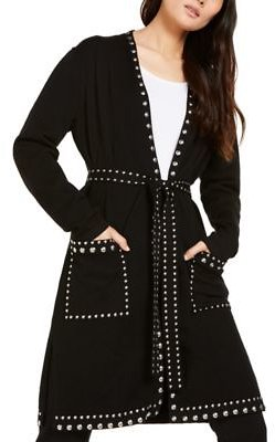 INC International Concepts I.N.C. Studded Cardigan, Created For Macy's & Reviews - Sweaters - Women